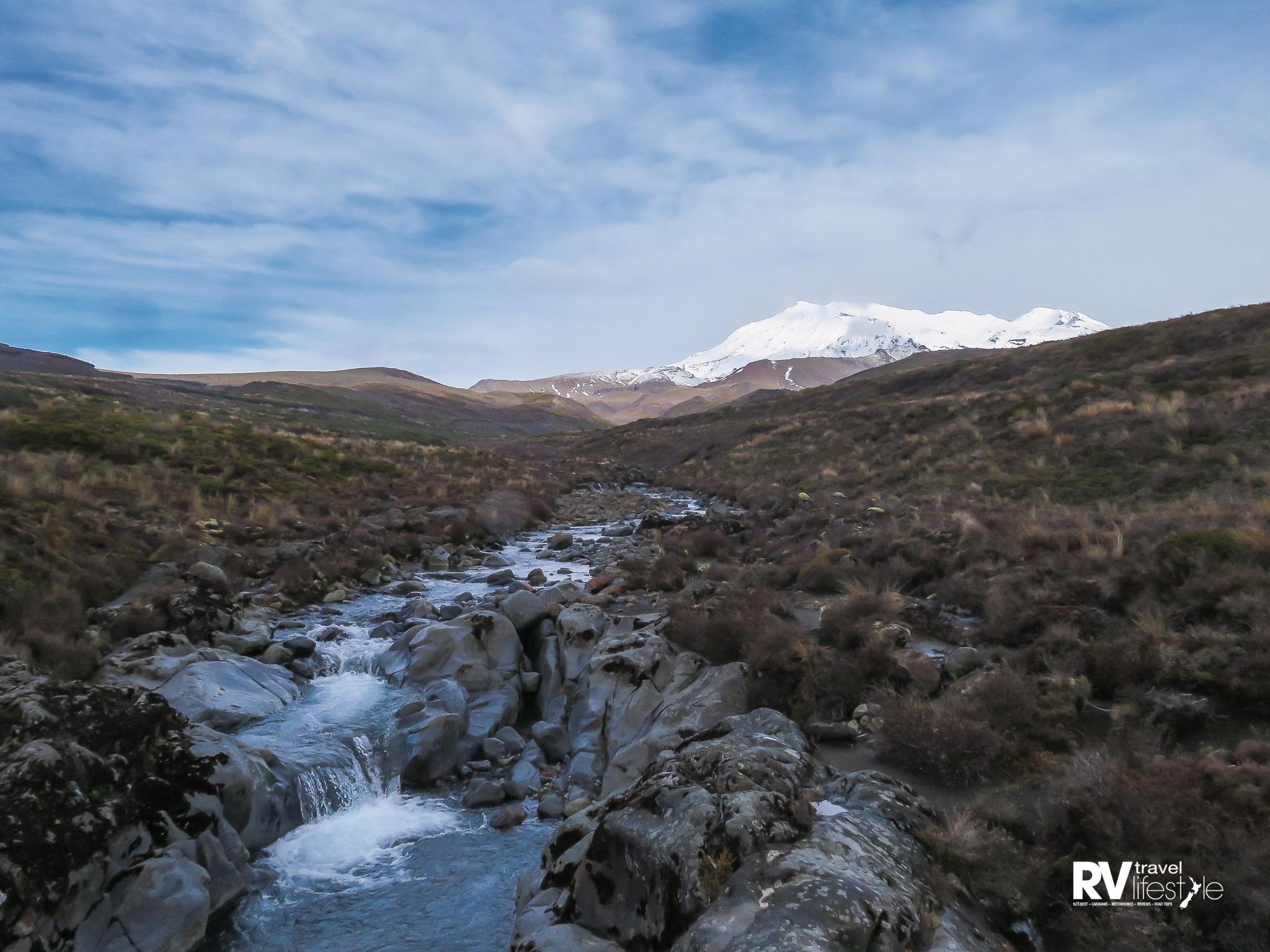 Turangi and Mount Ruapehu