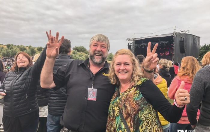Lots of fun at the UB40 concert in January, especially as the sun started to go down