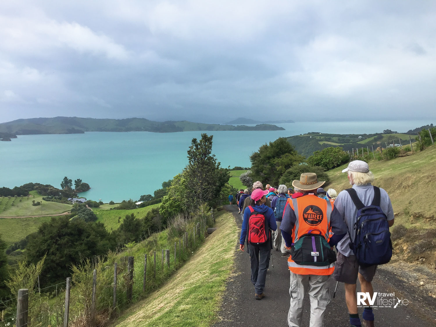 Omaru Bay - No matter which walk you join, spectacular views are assured