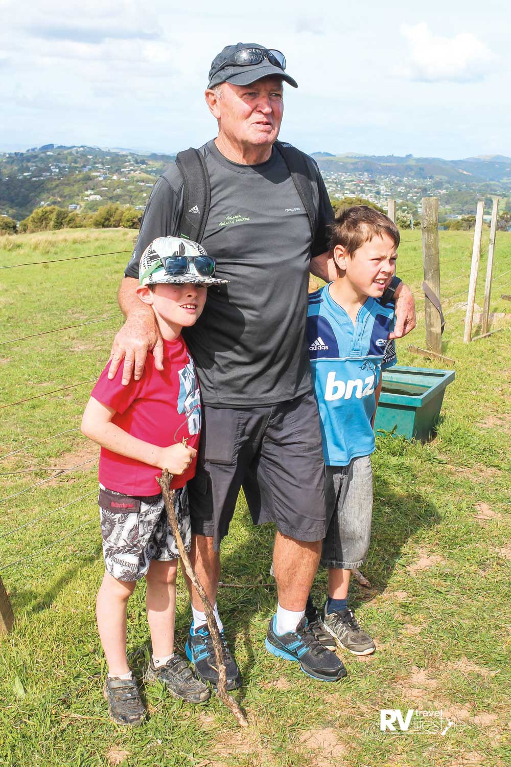 Sir Graham Henry is a festival patron and keen walker who sets a mean pace