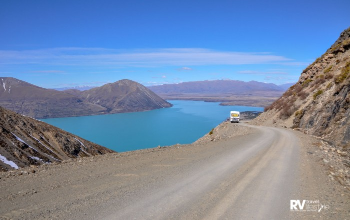 For those who venture up in an RV, buckle in for the ride – it is not for the faint hearted, and not recommended for caravans or larger vehicles 