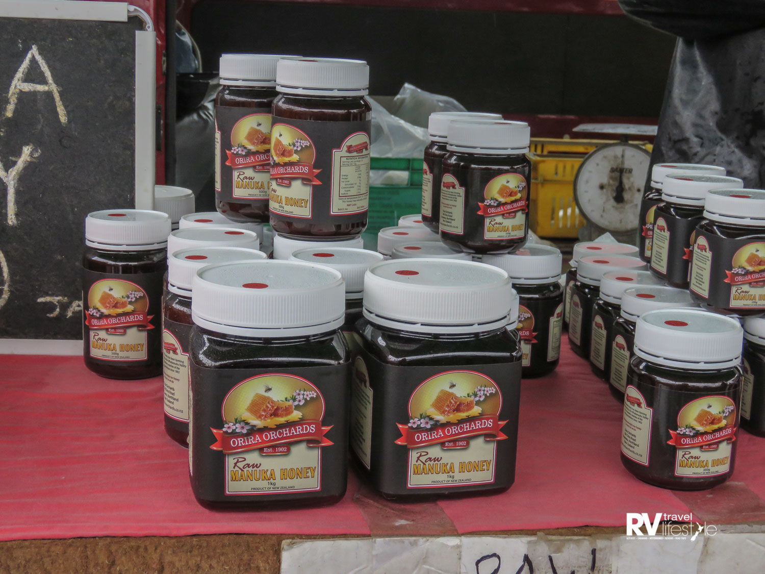 Honey packaged for sale
