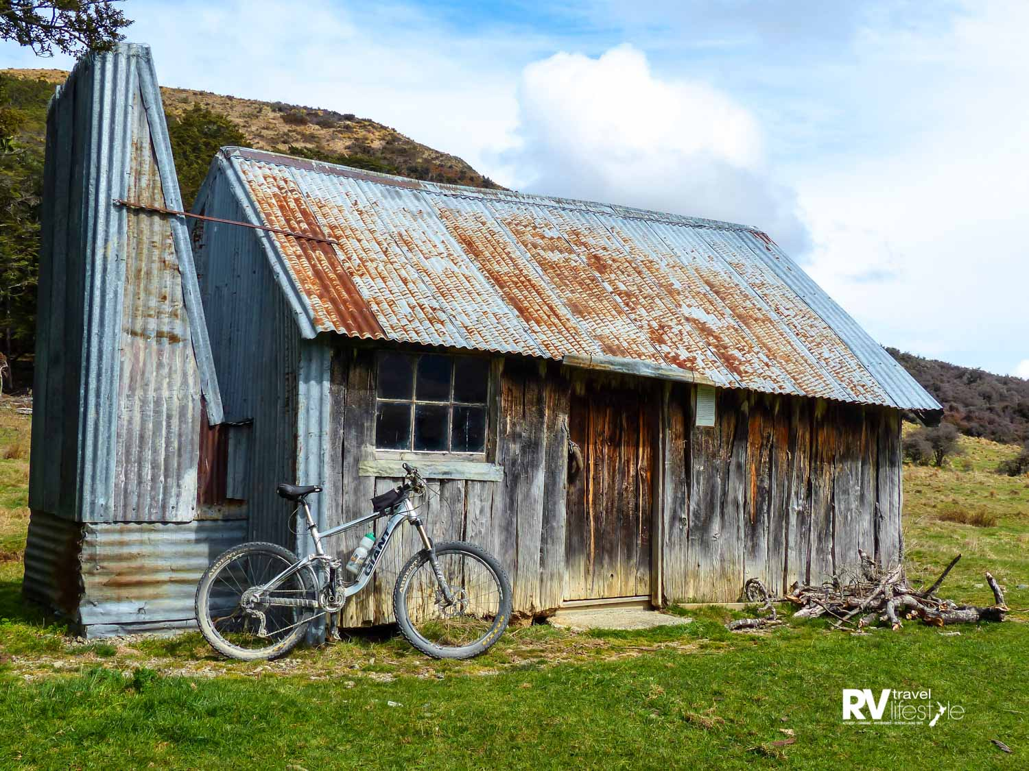The Bullock Creek Hut takes you right back to our early pioneer days