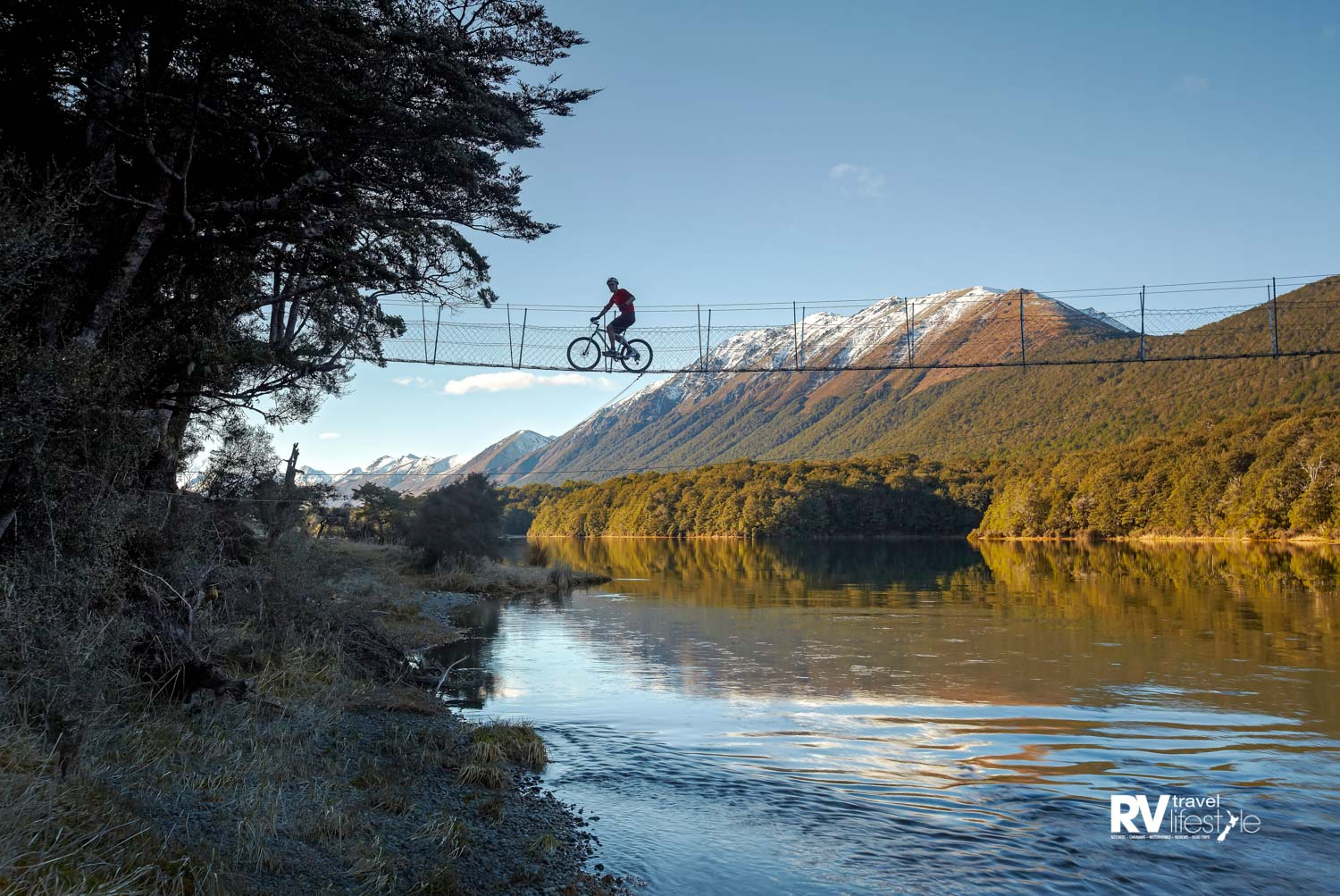 Mavora Lakes is a majestic gem and well worth a small detour (Credit – Around the Mountains Images)