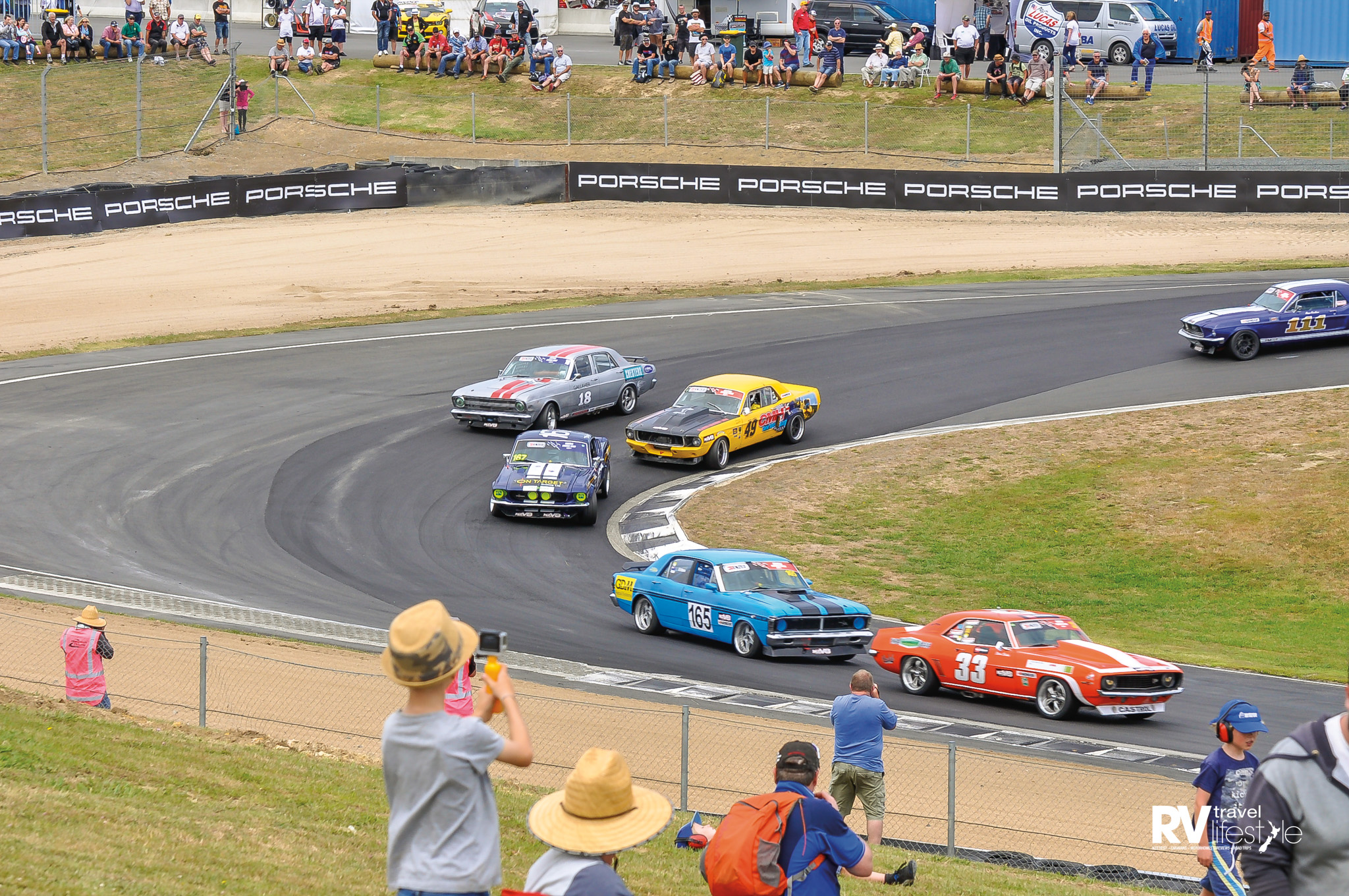 Hampton Downs raceway celebrated Ken Smith, an incredible gentleman who is over 70-years old and still wins championship races - hats off to you Ken