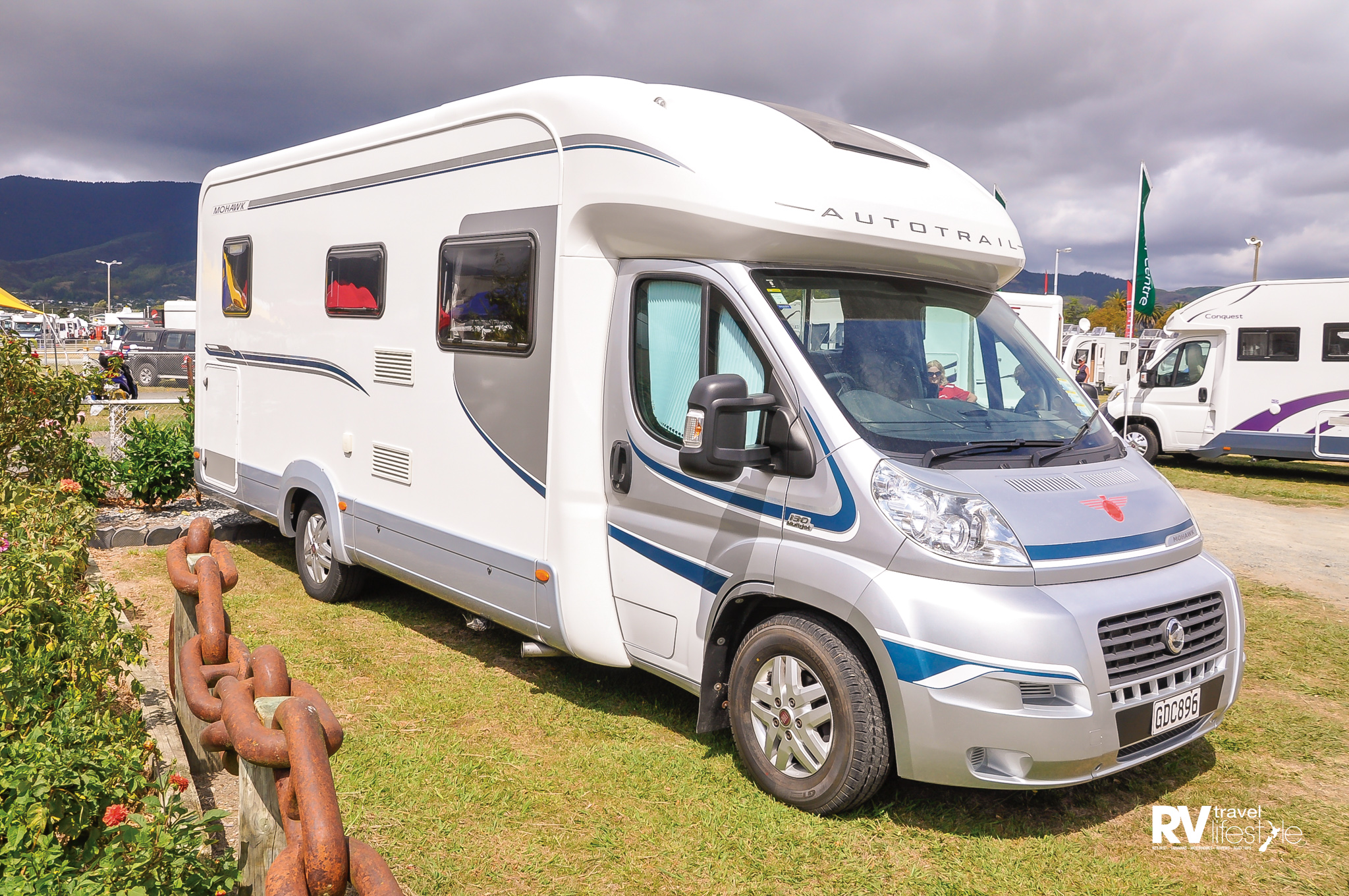 RV Leisure Centre in Nelson kindly lent us this 2011 model Auto Trail motorhome to work out of for the NZMCA AGM rally, so kind of them and the owner - thanks guys