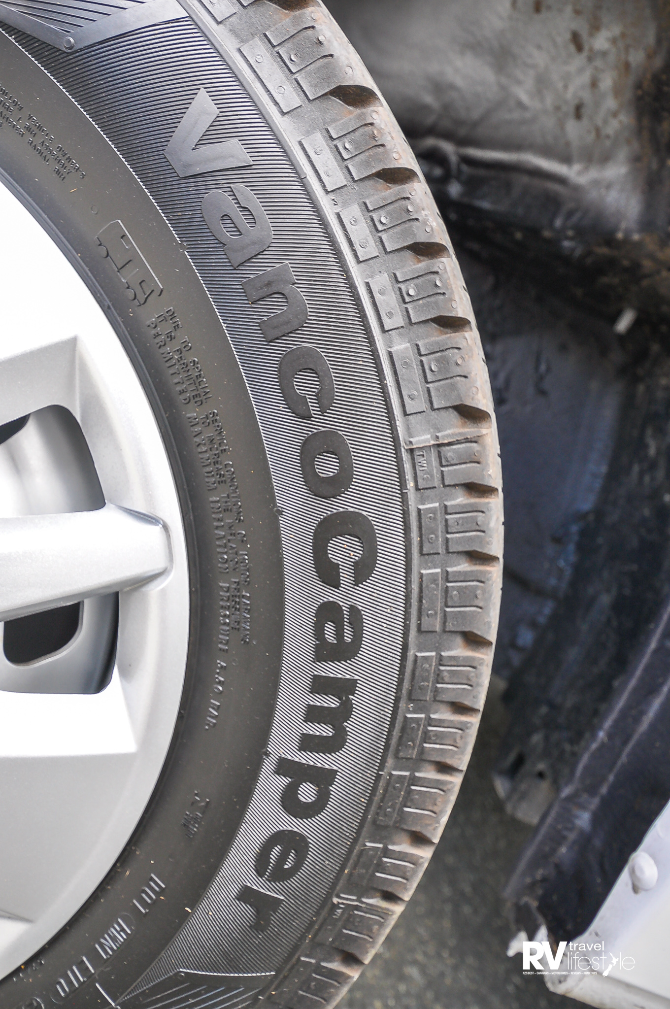 Specialised Continental Vanco Camper tyres made for the motorhome market