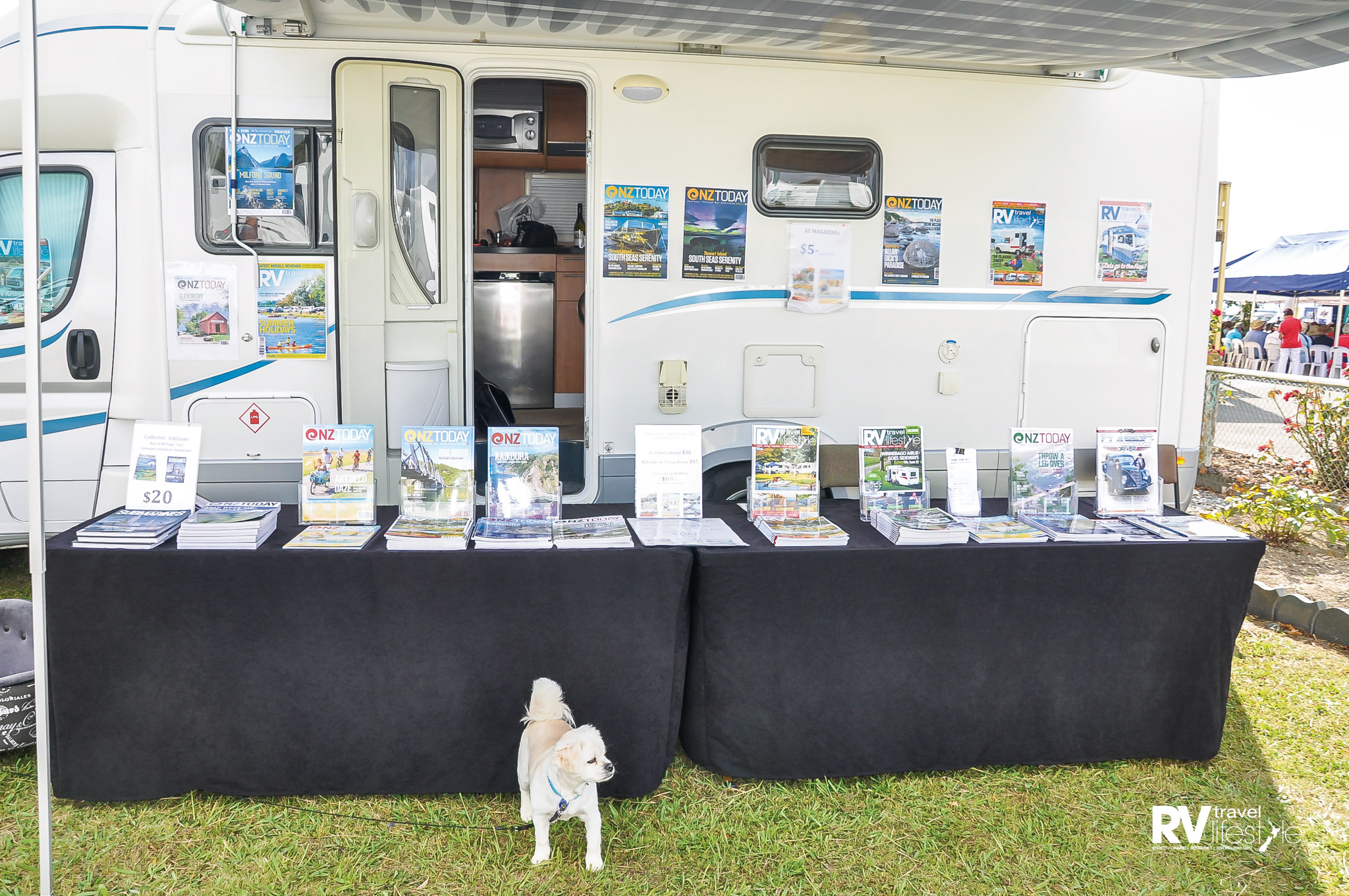 I got lots of attention at the big motorhome place