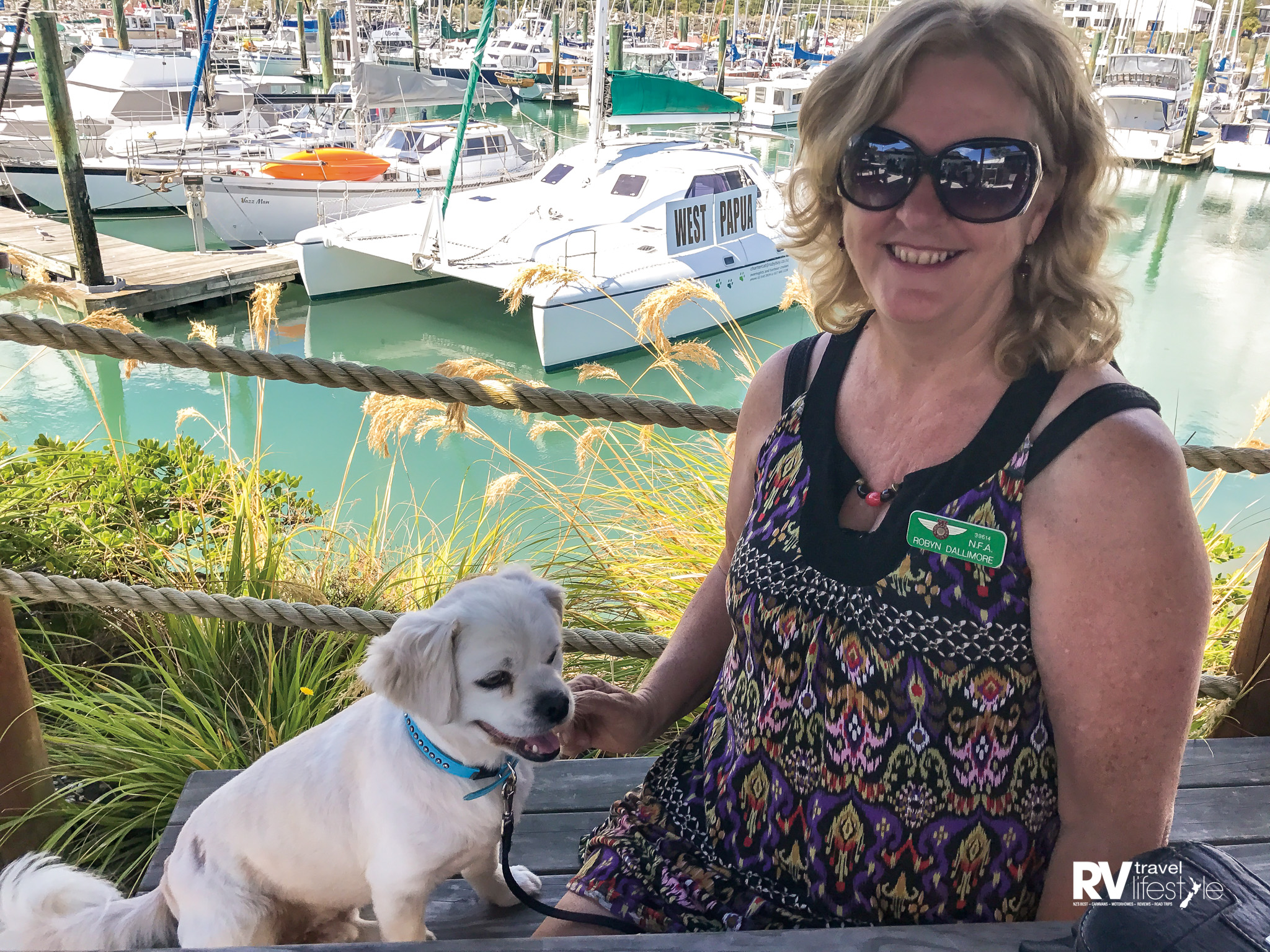Caspar loved lunch at the Anchor Restaurant and Bar in Nelson, and so did we – what a great spot and the meals were yummy and well priced at under $20. We highly recommend it