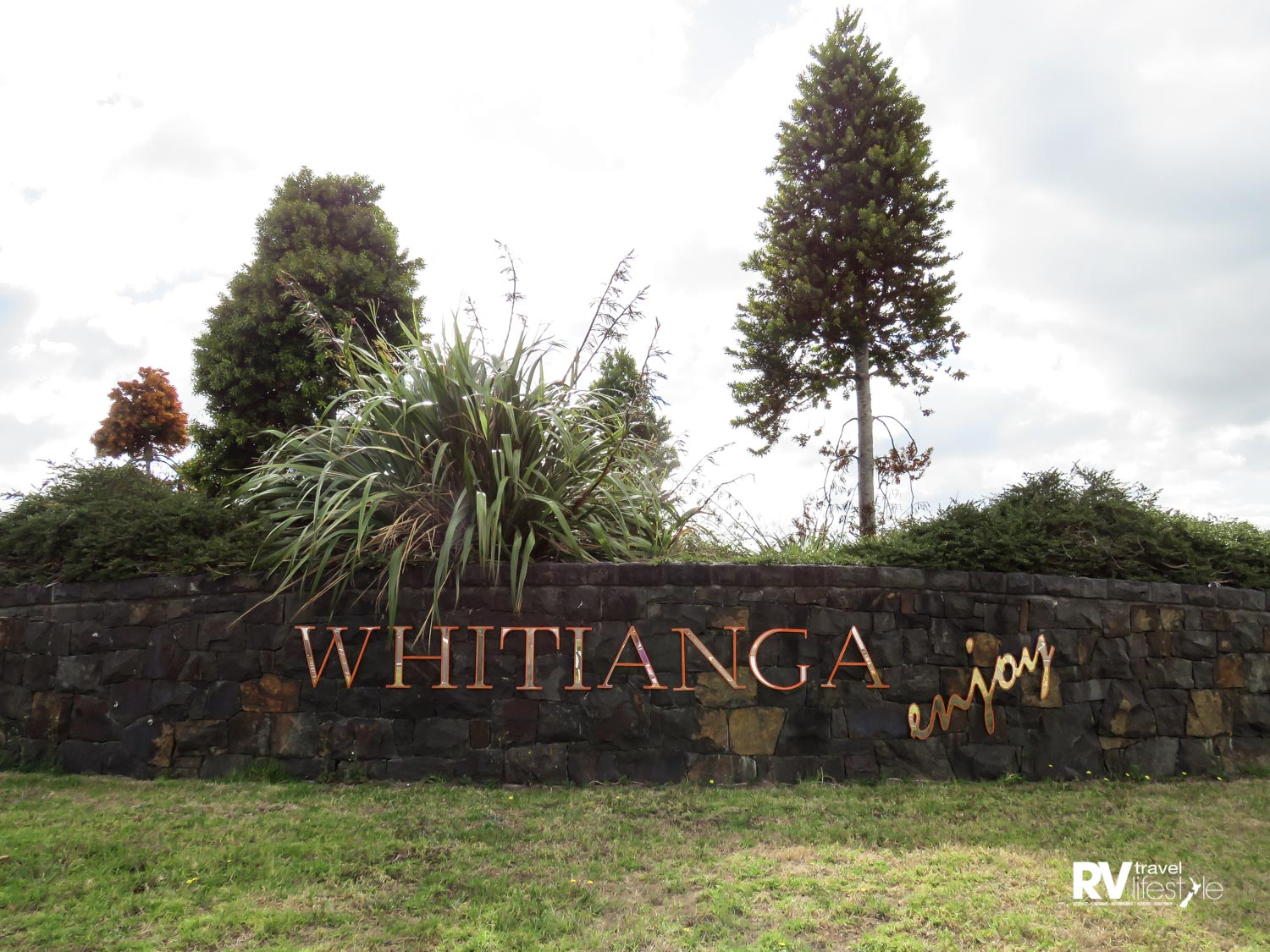 What a welcome – Whitianga's entrance signage