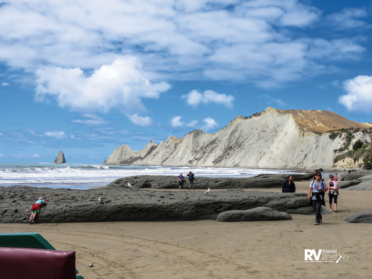 Cape Kidnappers beach