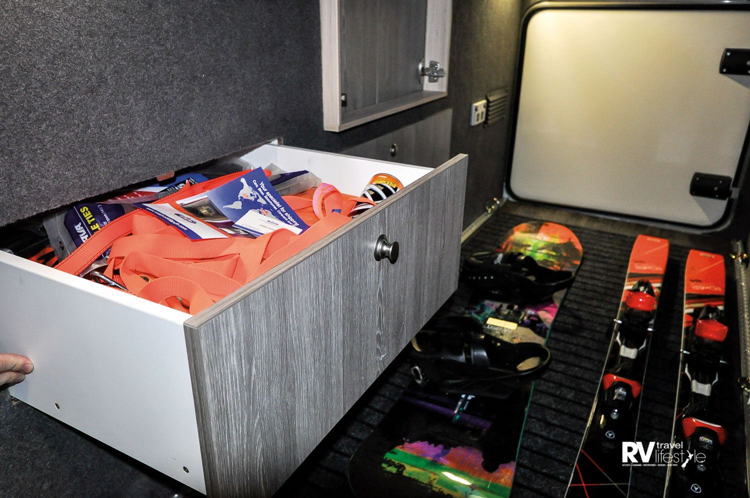 'Garage' drawers are innovative and welcome