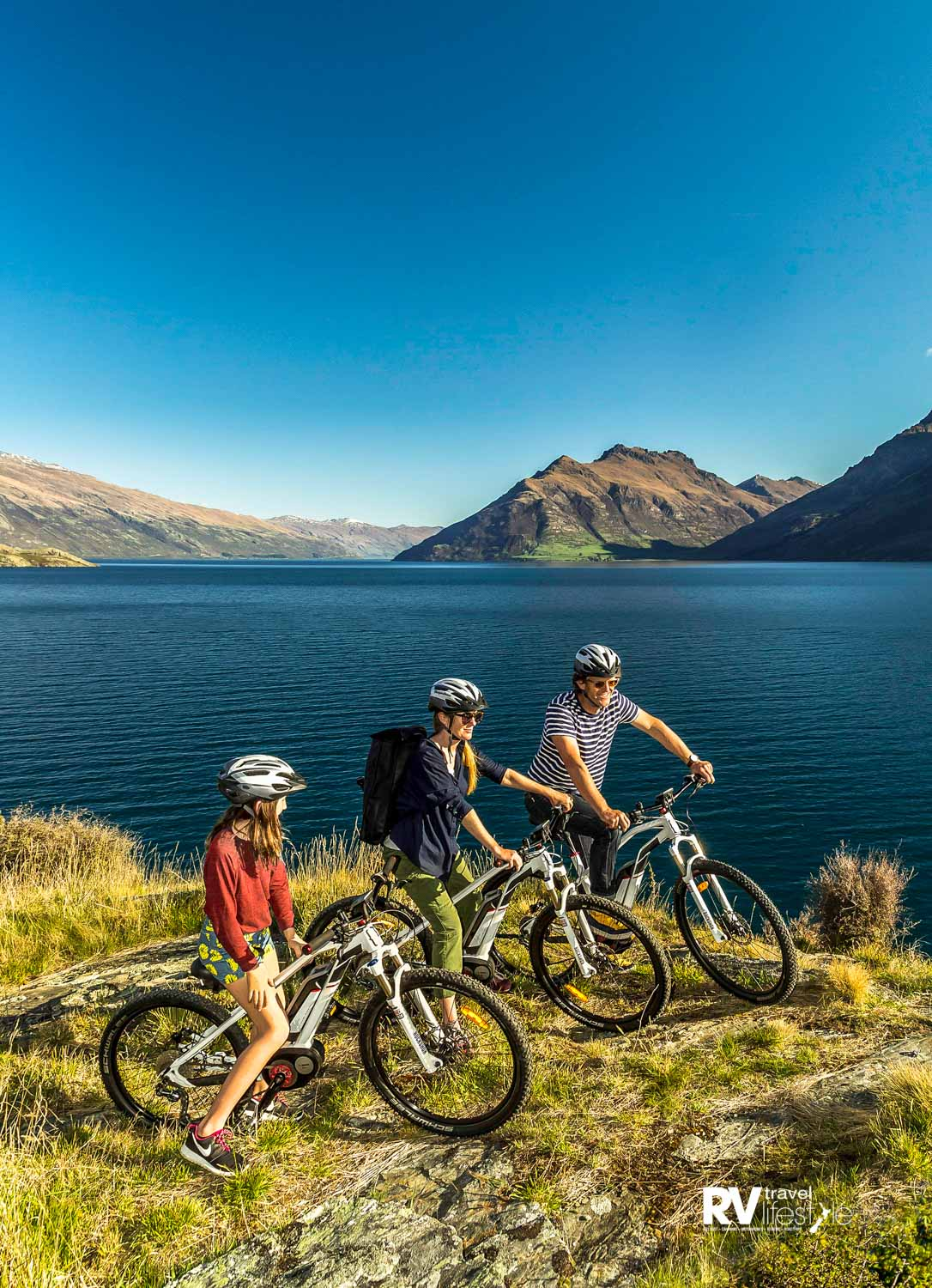 Chargeabout's fancy Moustache e-bikes to hire or purchase (credit: Chargeabout Queenstown)
