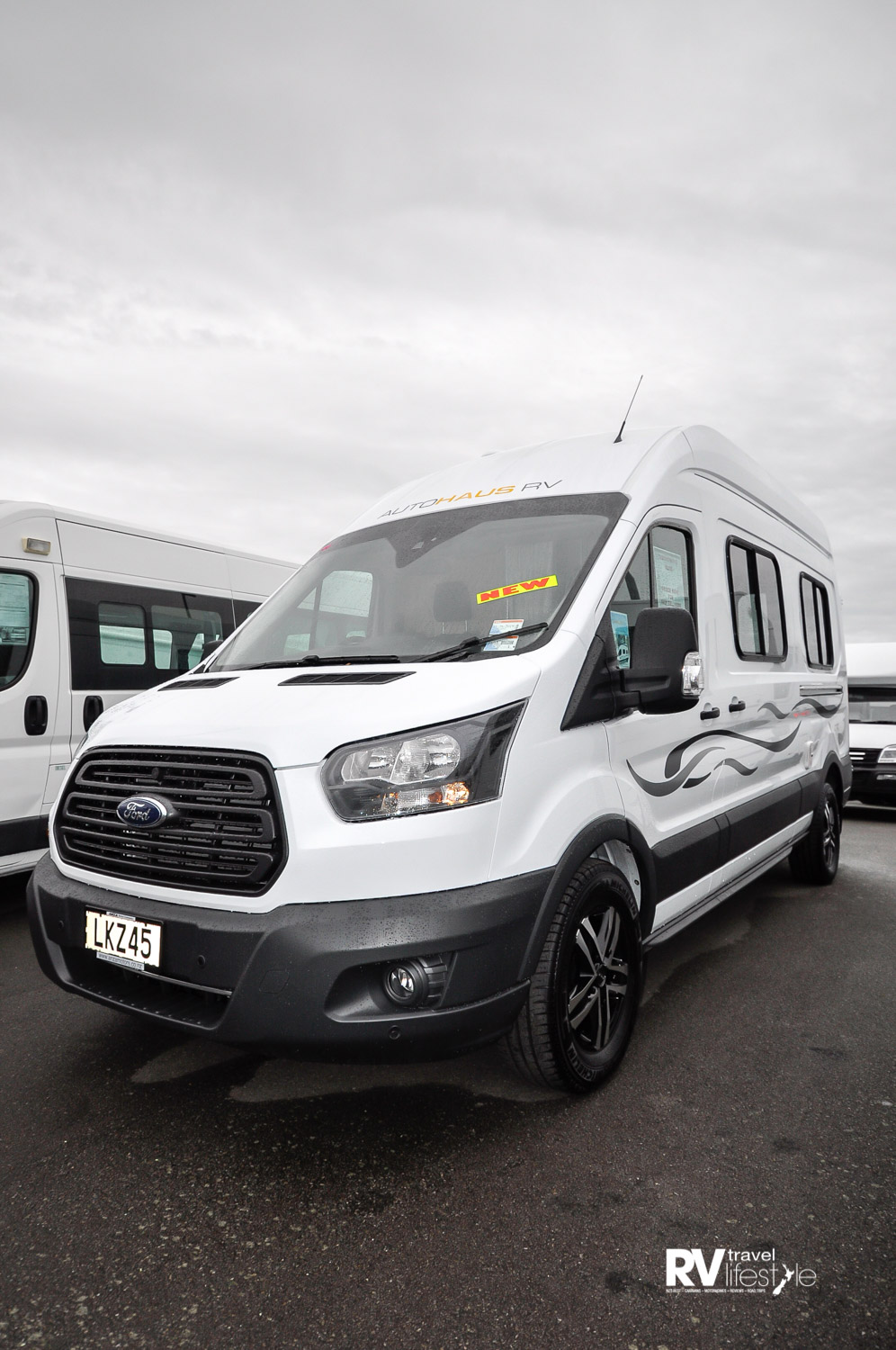 Based on the Ford Transit this is a fully self-contained camper van
