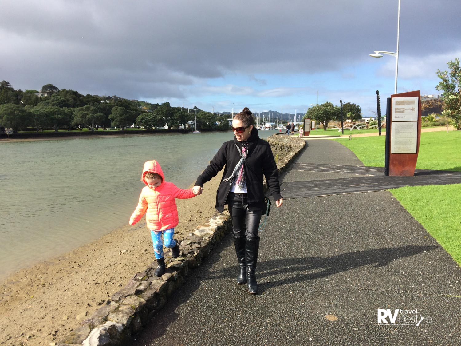 A final family walk along the Whangarei walkway
