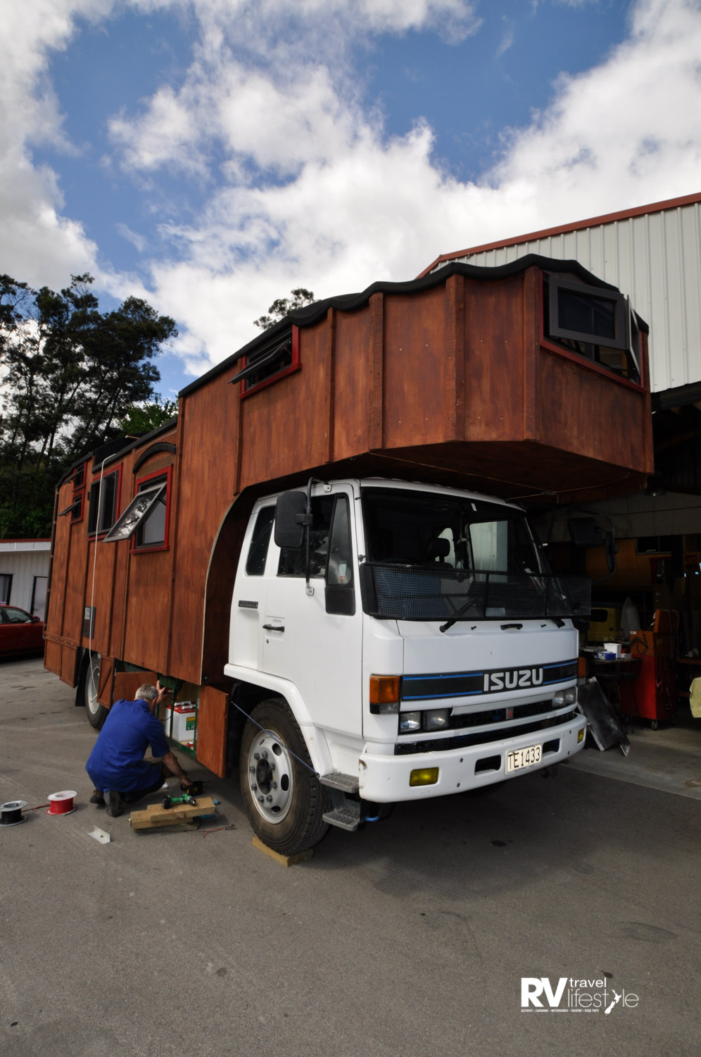 A truck based tiny home is a common sight on our roads.