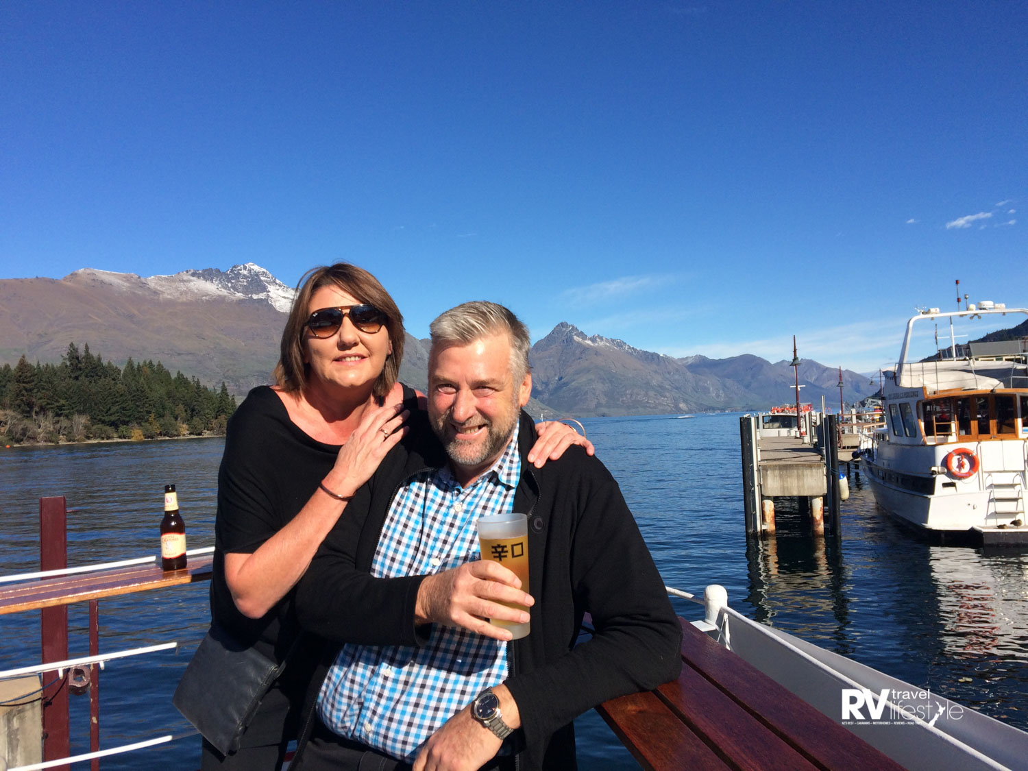 Catching up with Rona is always great fun in Queenstown, many readers know Rona from working with us at shows and travelling with us around the country at times