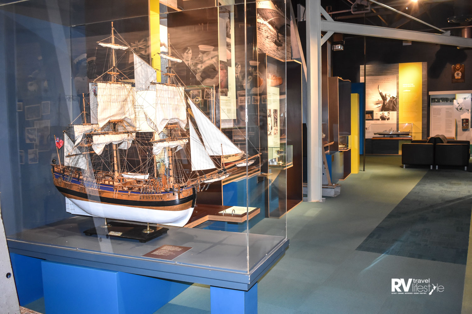Model ships trace the history of naval vessels