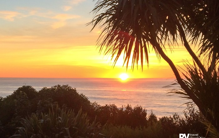 Kaikoura - with a sunrise like this over the ocean you can see why this area is so captivating