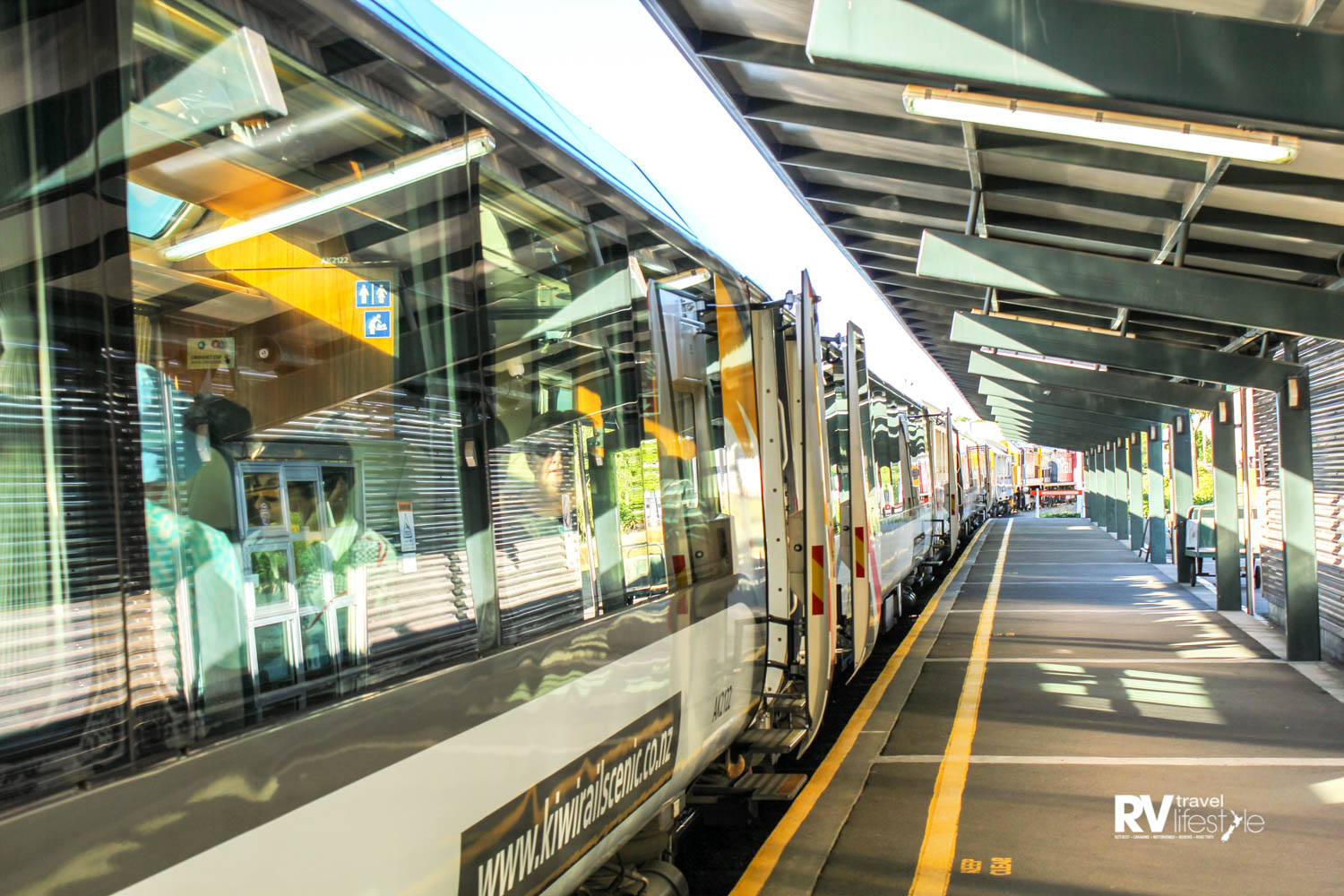 The TranzAlpine at Christchurch Railway Station. Photo supplied