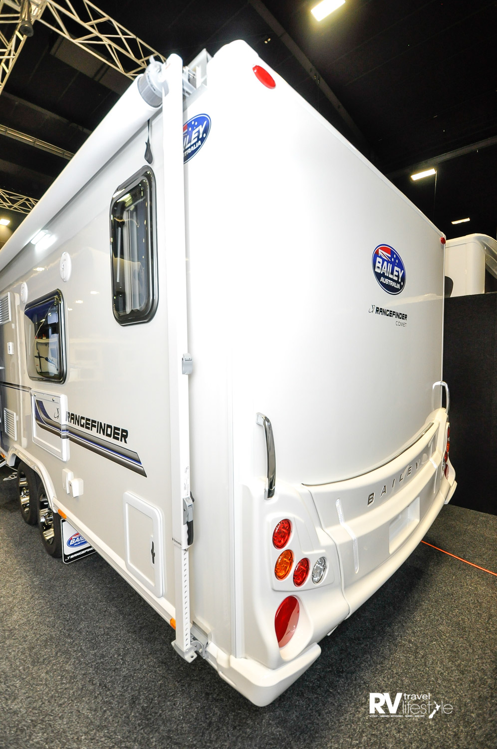 2017 - Aussie-built, UK-brand Bailey Rangefinder models – various models on display at recent motorhome shows