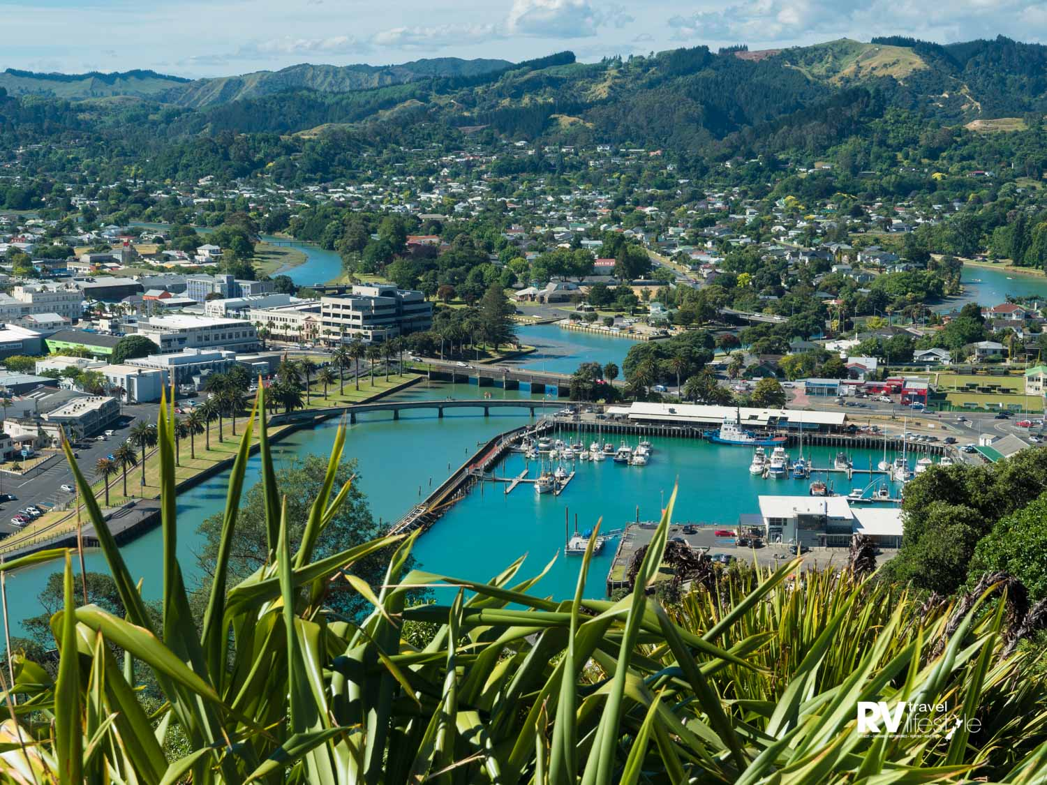 Gisborne from a lookout on Titirangi-Kaiti Hill. Photo by Damon Meade