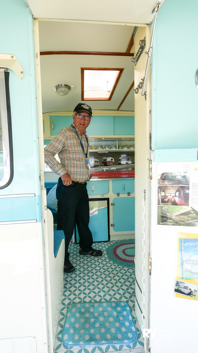 Don Jessen, author and passionate caravan builder and collector