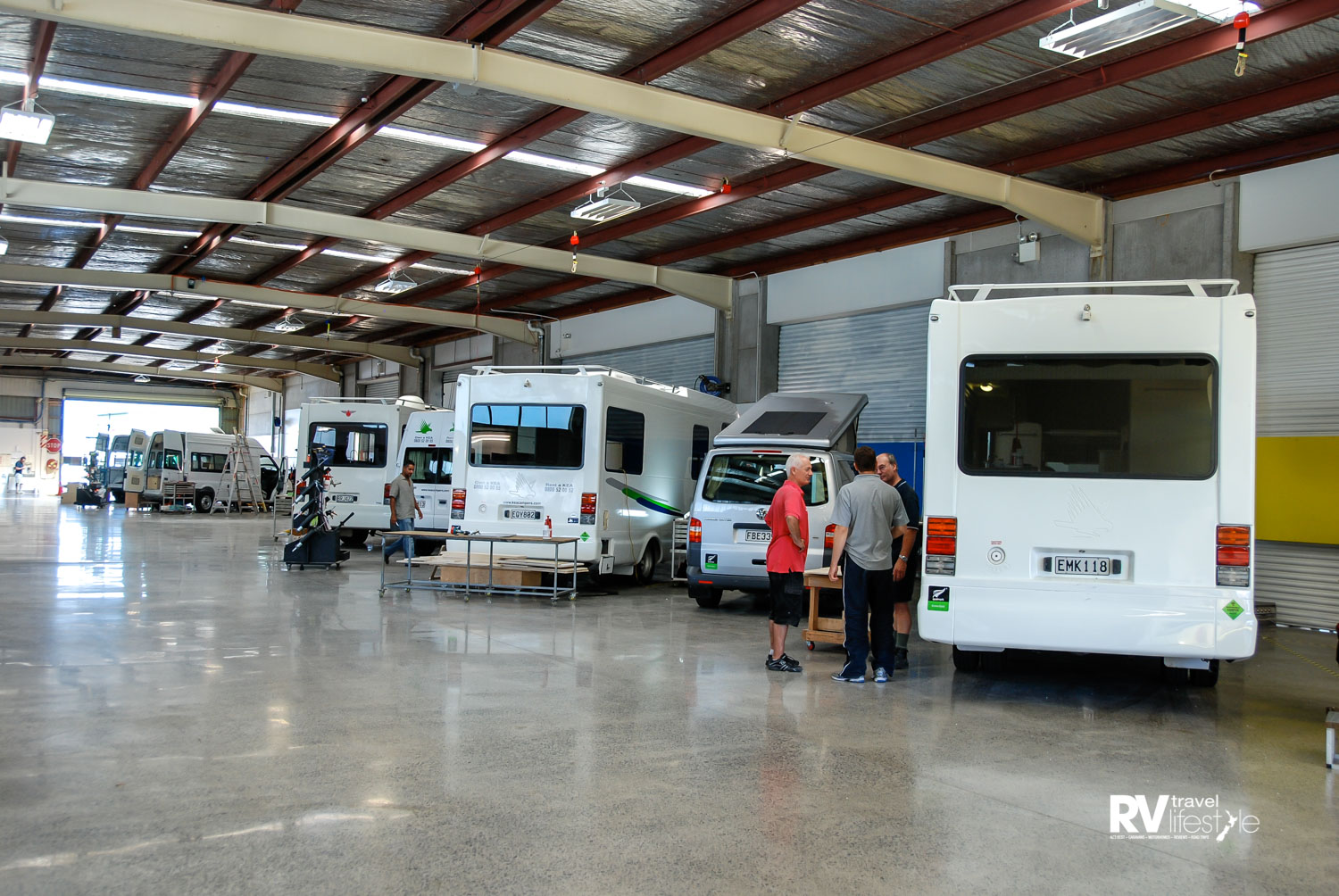 KEA motorhomes are instantly recognised on roads in New Zealand and Australia, 2010