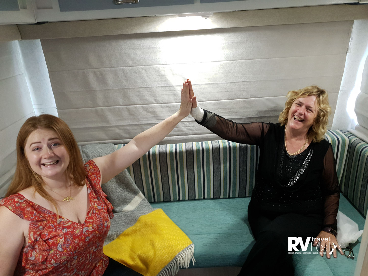 High five's all round with Olivia Orr, our consultant at Starfish Interiors