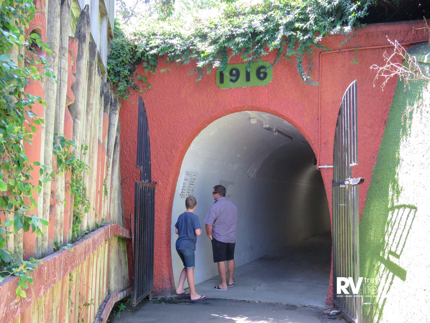 Begun in 1916 the tunnel opened in August 1919