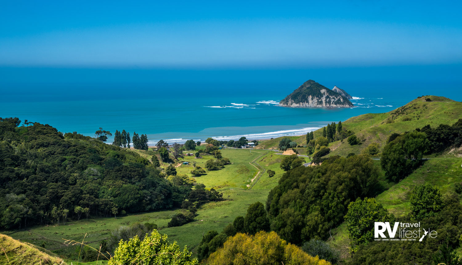 Stunning views await you as you wind your way to Anaura Bay