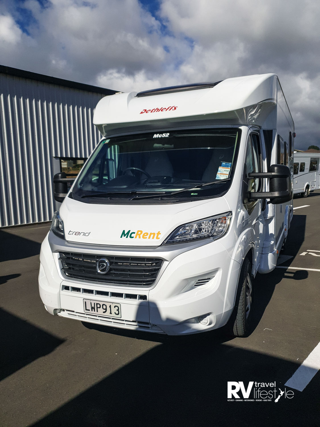 Low-line Dethleffs Trend Distinction range all based on the Fiat Ducato 96KW (130BHP) cab chassis