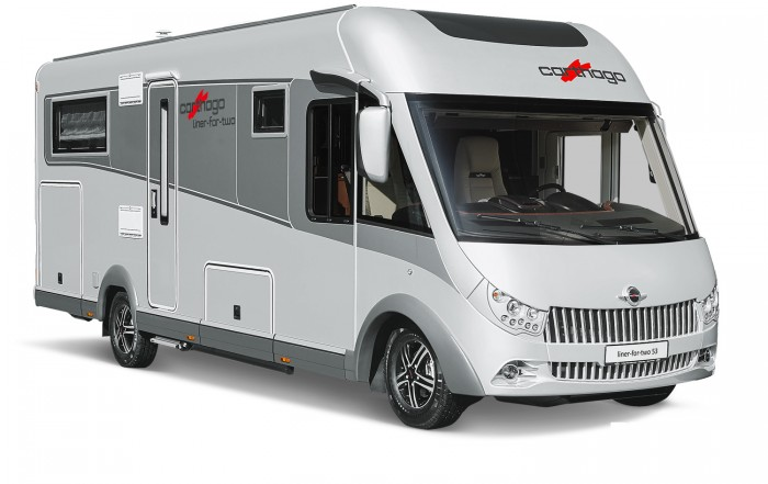 The 180hp Fiat Ducato on the heavy duty ALKO chassis is packed with features. Big garage storage and locker storage accessible outside and in The seat lifts up to accommodate high items, such as bike handle or similar