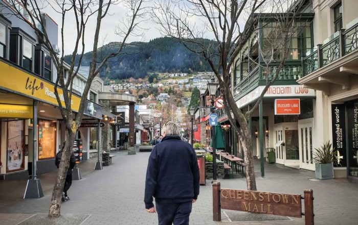 Such a joy to be in Queenstown where there are hardly any tourists there
