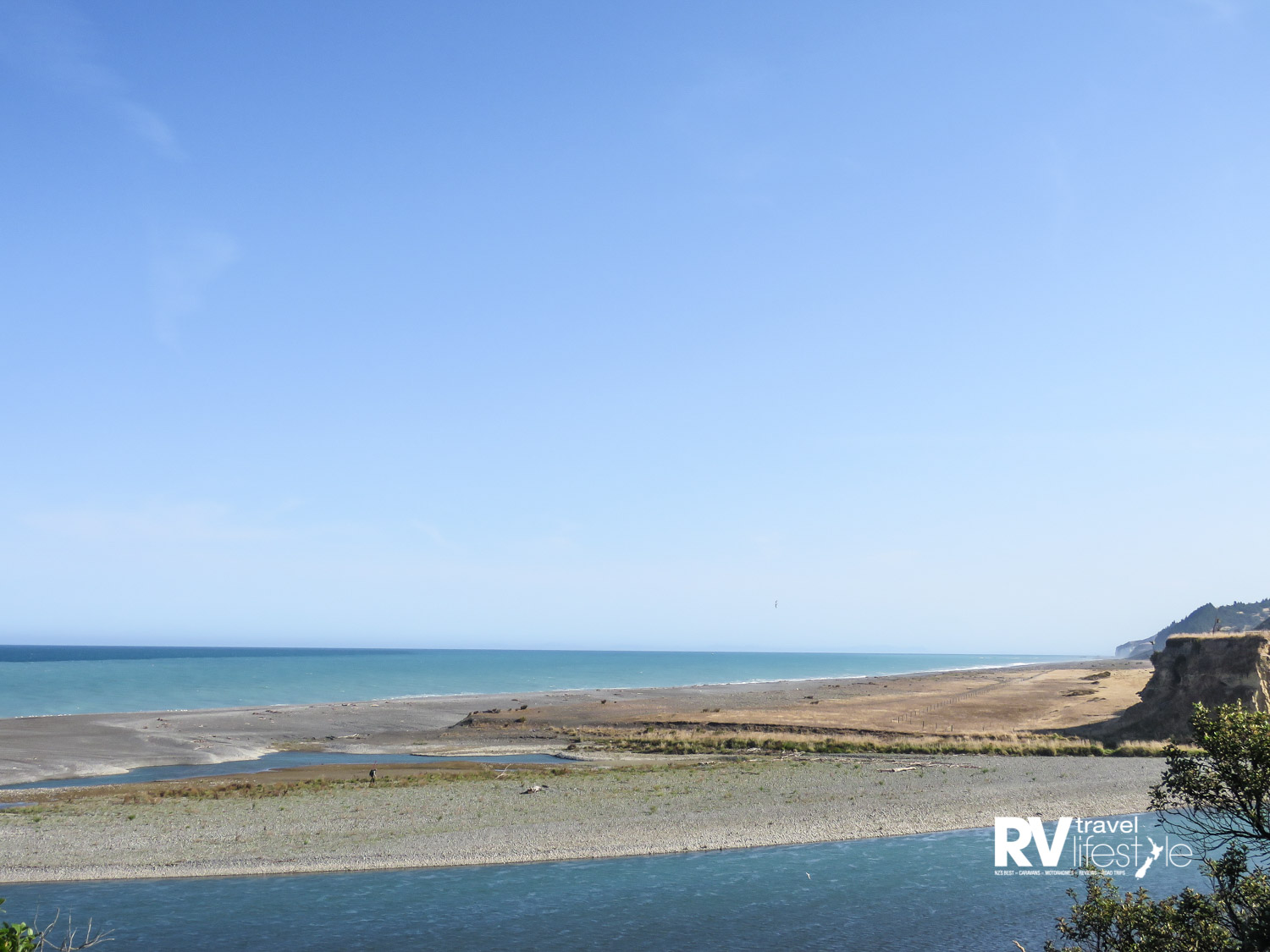 Hurunui River mouth – a great fishing spot!