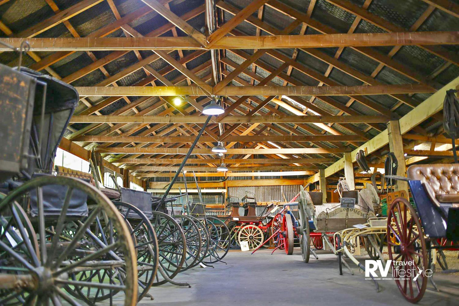 One of the finest and largest collections of horse-drawn vehicles in the country