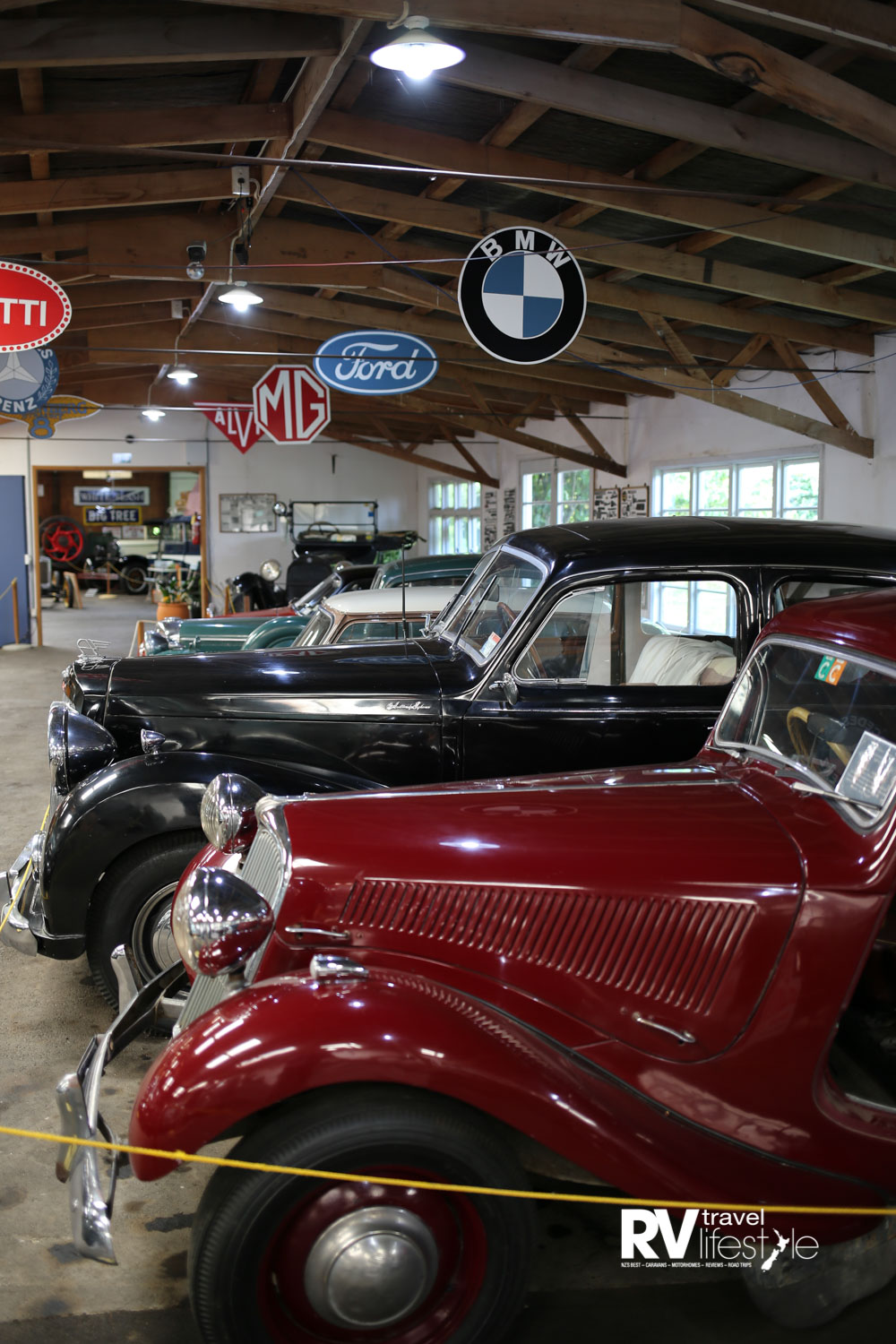 A range of makes and models from yesteryear