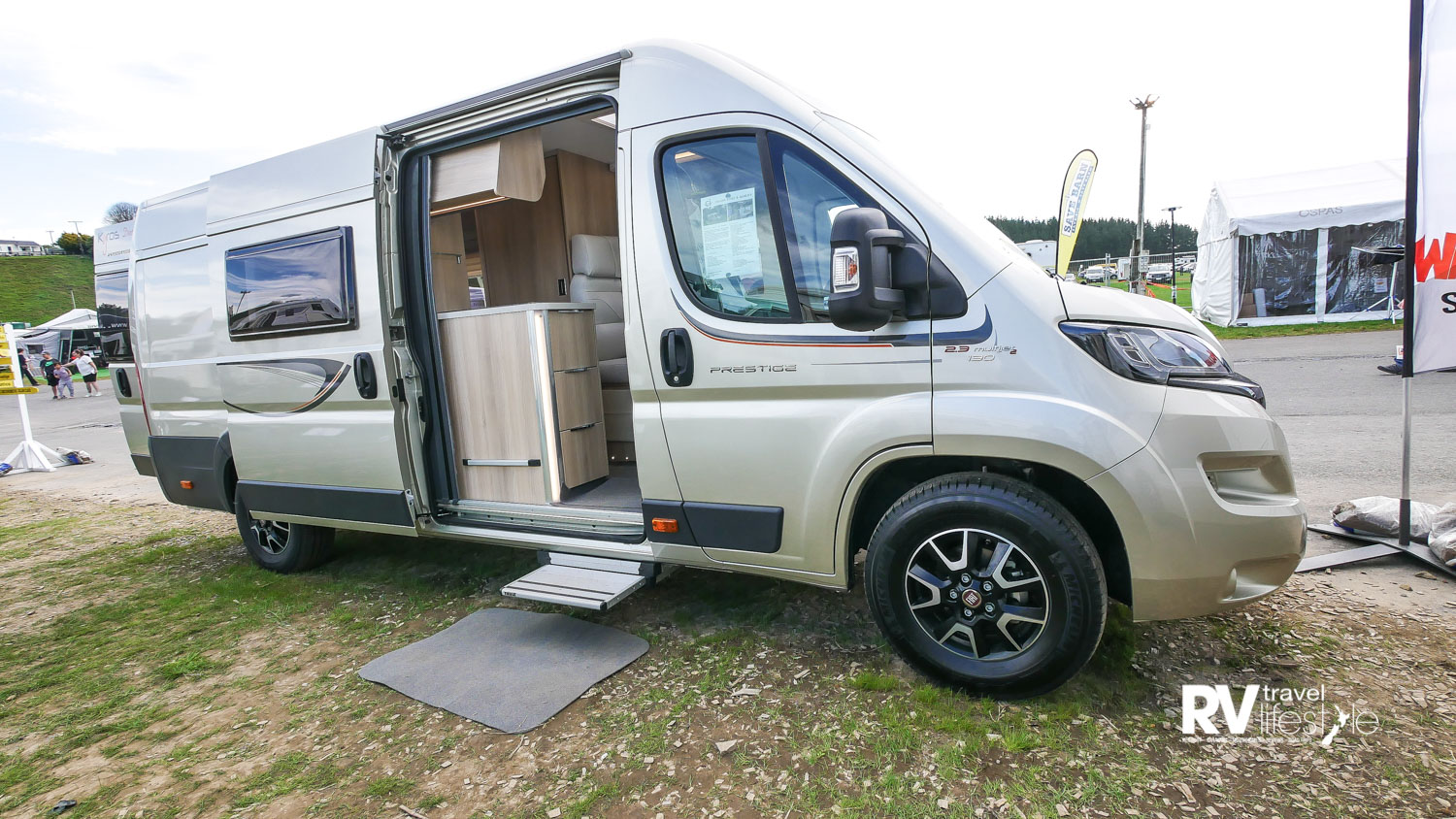 This sized camper van offers more than you think for the size
