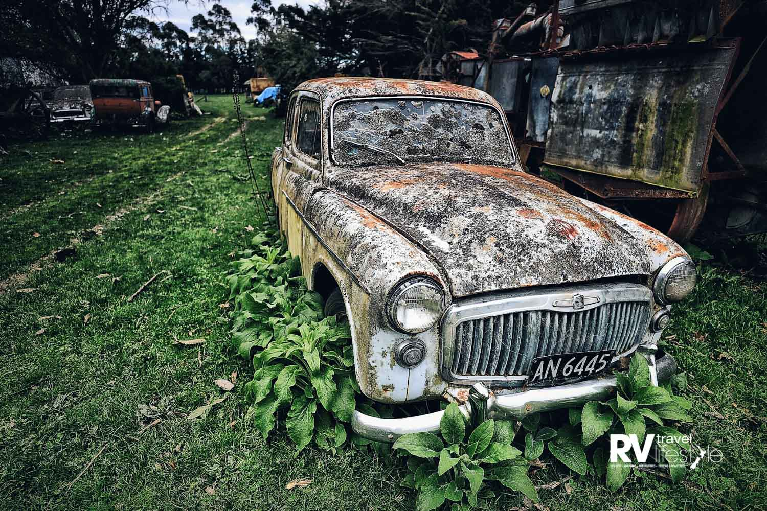 The 'Rust in Peace' paddocks provide idyllic photo opportunities