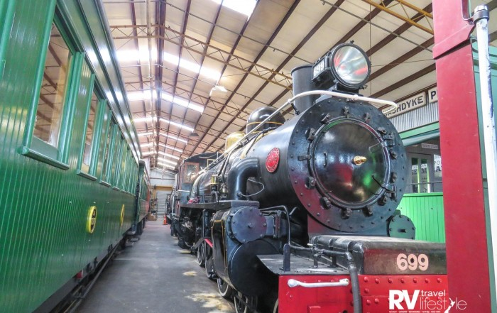AB699 built in Thames and once the largest engine on the NZ Rail system