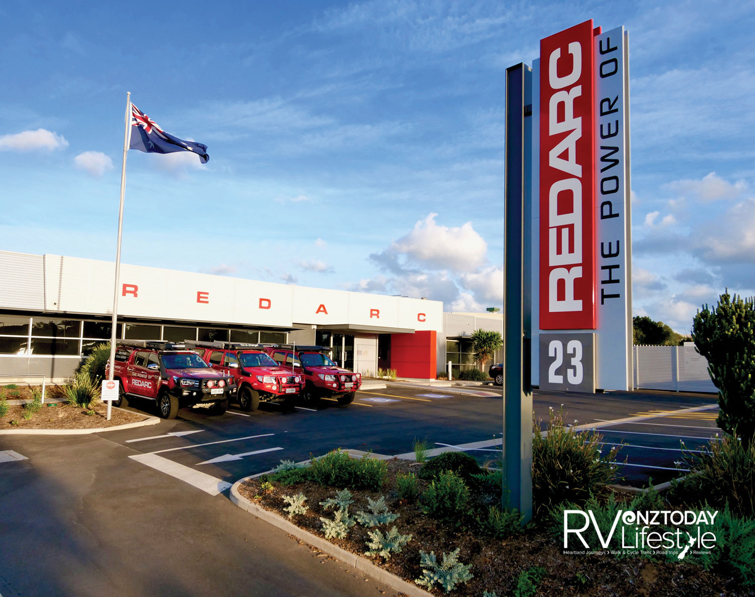 REDARC Plant is based in Adelaide