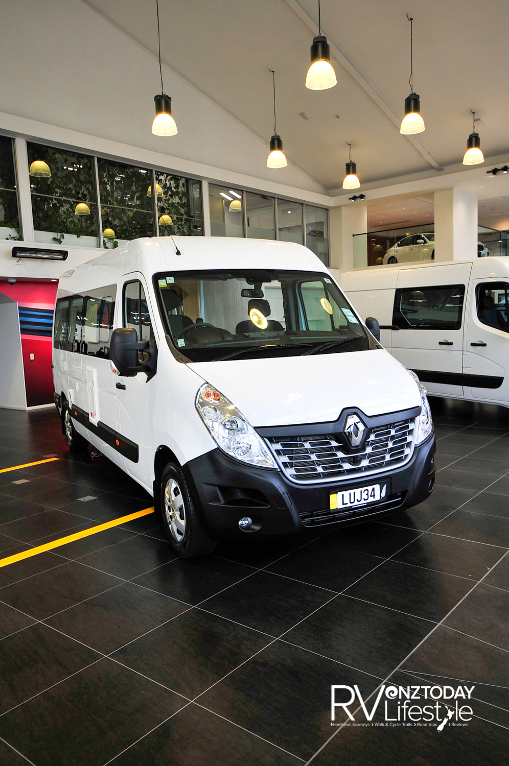 Based on the Renault Master LWB 2.3L diesel, 130kW engine with AMT transmission, packed with cruise control, air-con, Traction and Stability Control systems, remote keyless entry, ABS and EBD the list goes on