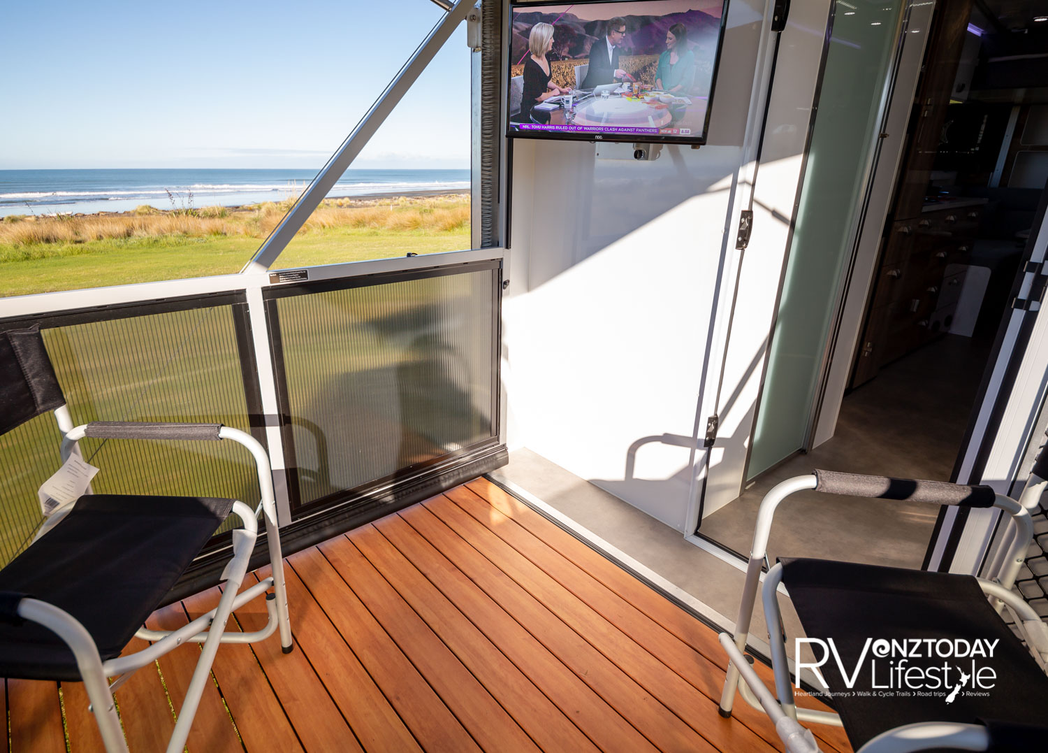 Featuring a innovative and spacious Sky-deck, which can be set-up in a couple of minutes – this is sure to get us outdoors Kiwis excited. Photos by camleggettphoto.com