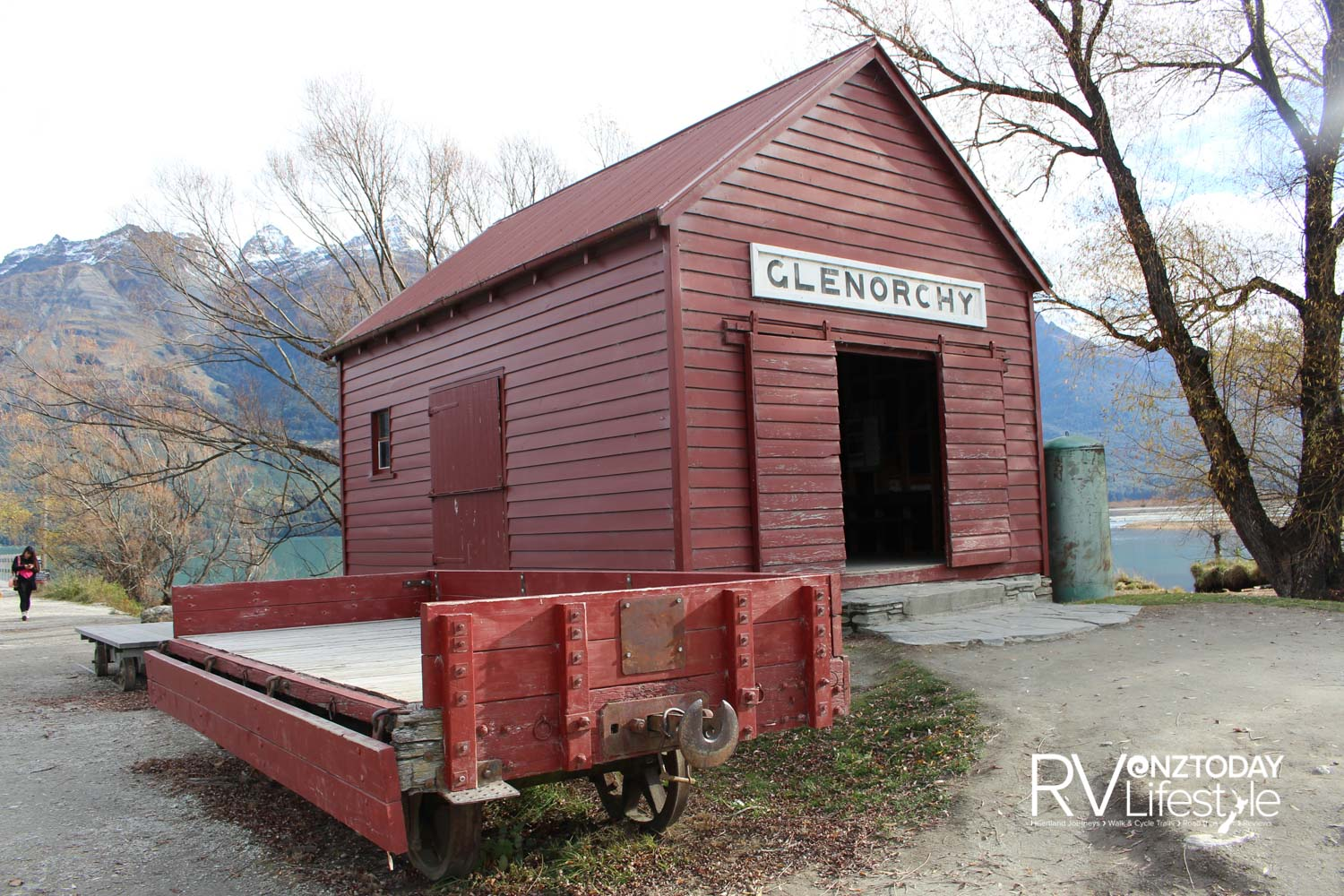 It's only in reasonably recent years that Glenorchy has been accessible by road. Prior to that the Earnslaw – run by New Zealand Railways – was the only means of transport in and out