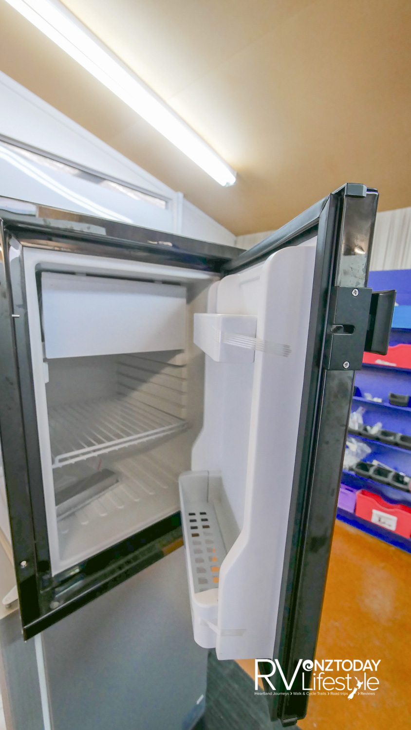 Perfect replacement fridge for some two-berth models out there, if you solar up
