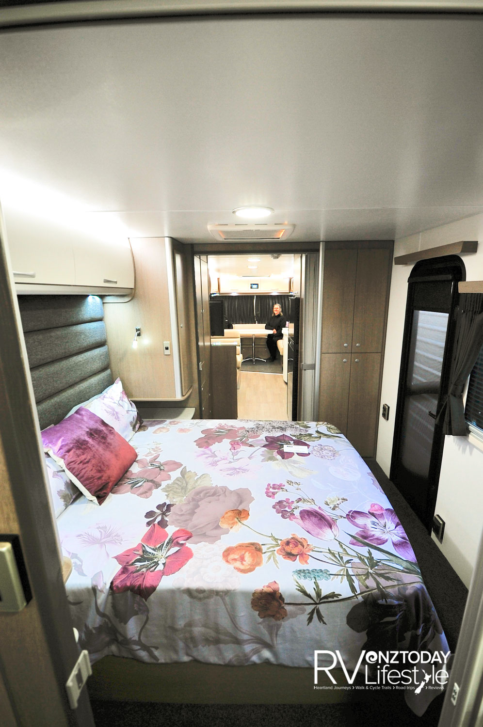 At nine metres long there is plenty of living space, what a great caravan