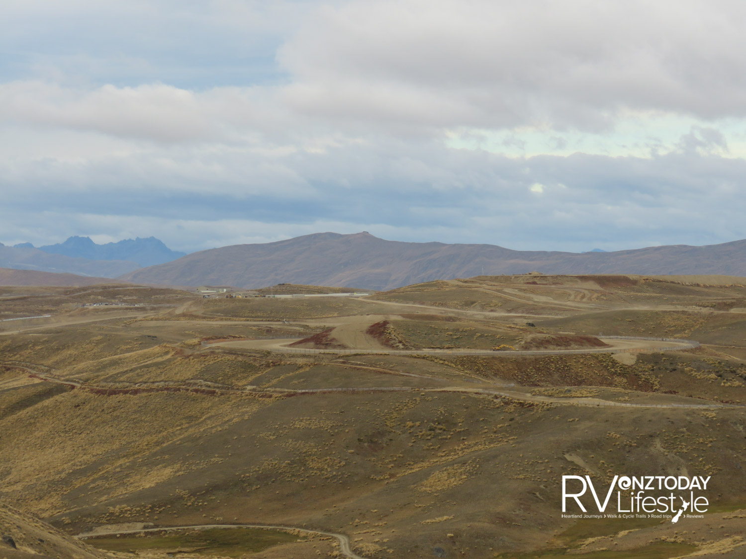 Looking back at the Southern Hemisphere Proving Grounds from the Pisa Range