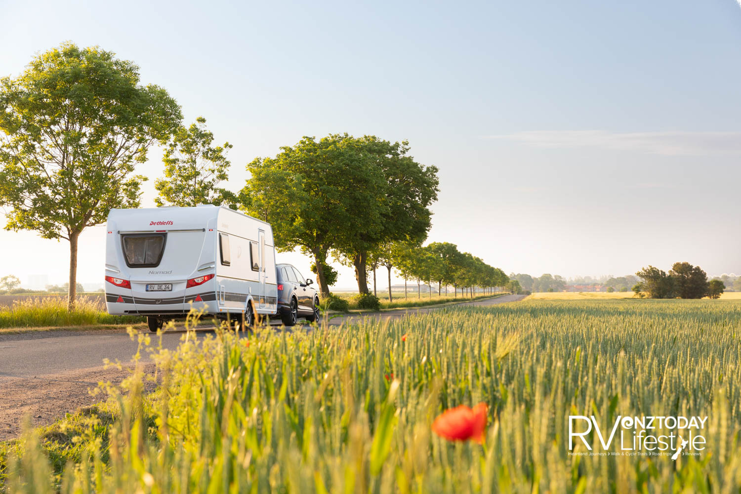The Nomad 490 EST is a single axle caravan with a good towing weight of 1800kg. (Single and tandem axle available in other Nomad layouts with GVM from 1800-2500kg.)
