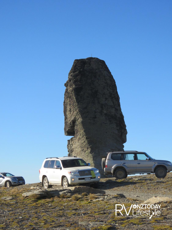 Obelisk Rock – photo NZ Adventures Ltd