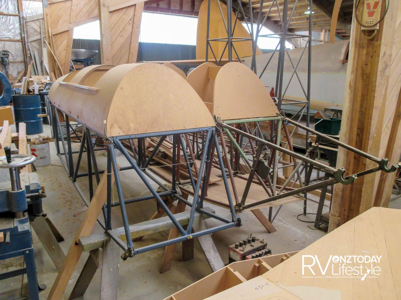 Tiger Moths in production at Mandeville